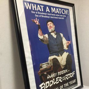 Fiddler On The Roof Poster Harvey Fierstein